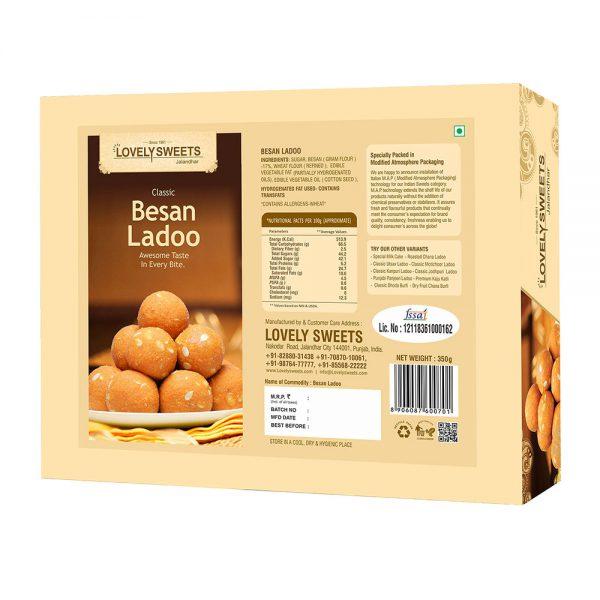 Besan Ladoo (350 gms)