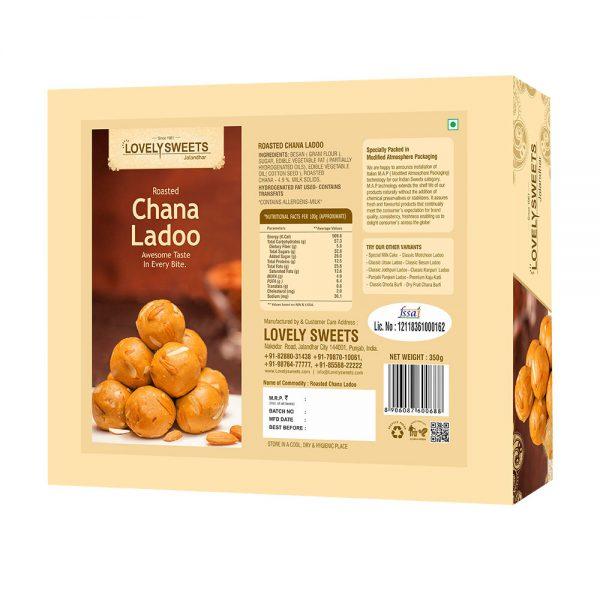 Roasted Chana Ladoo (350 gms)