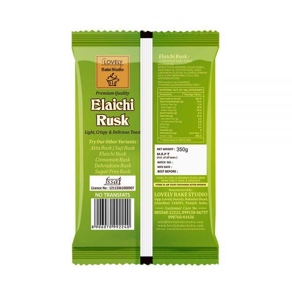 Elaichi Rusk (350 gms)