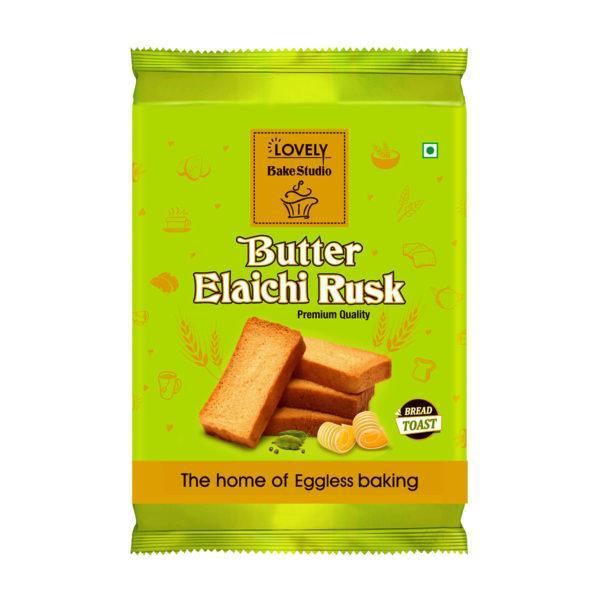 Butter Elaichi Rusk (150 gms)