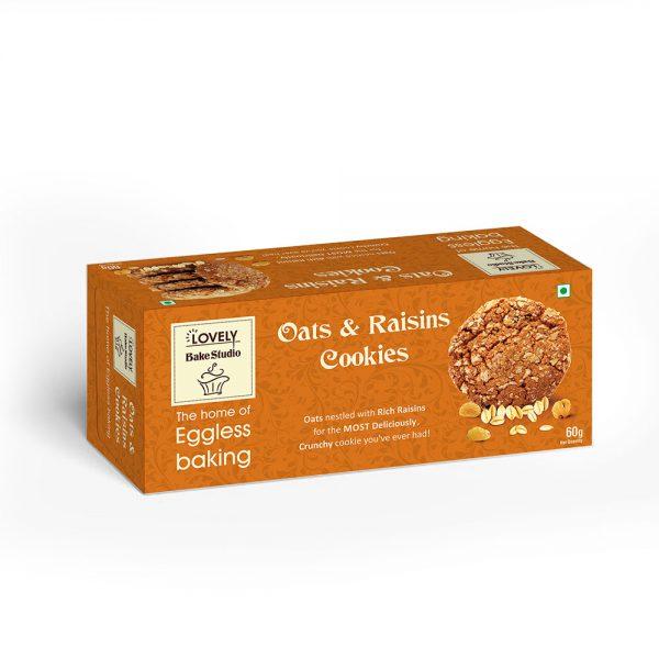 Oats & Raisins Cookies (75 gms)