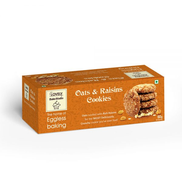Oats & Raisins Cookies (75 gms)