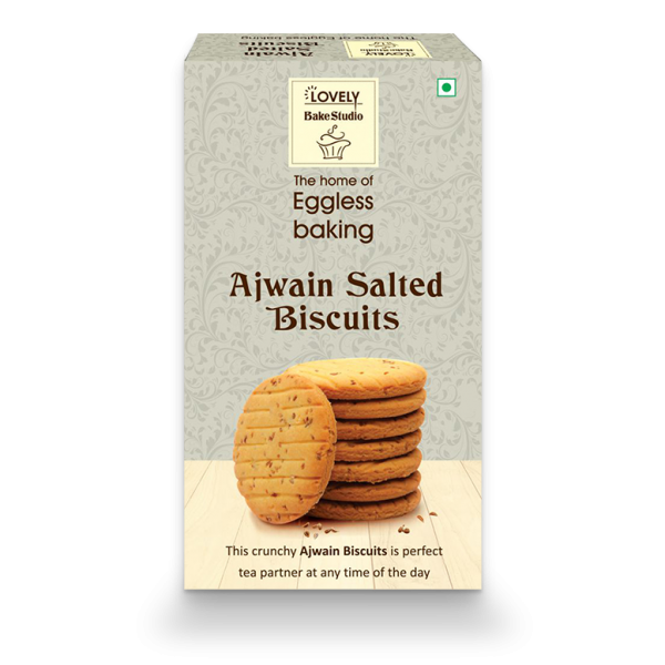 Ajwain Salted Biscuits (400 gms)