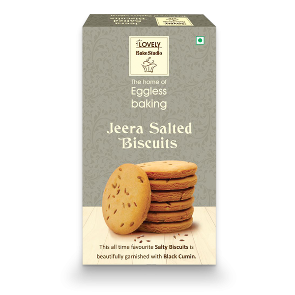 Jeera Salted Biscuits (400 gms)