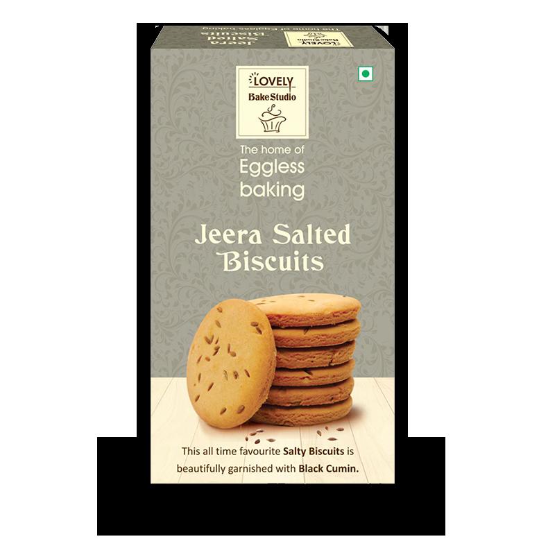 Jeera Salted Biscuits