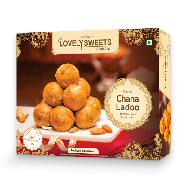 Roasted Chana Ladoo (350 gms)
