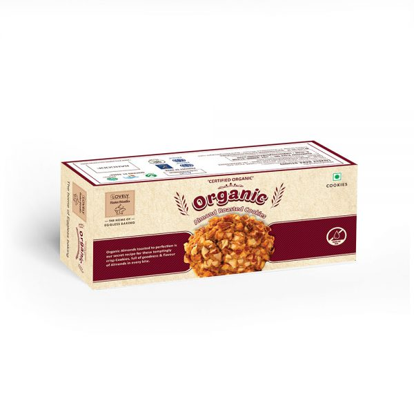 Organic Almond Roasted Cookies