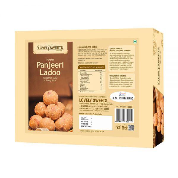Punjabi Panjeeri Ladoo (350 gms)