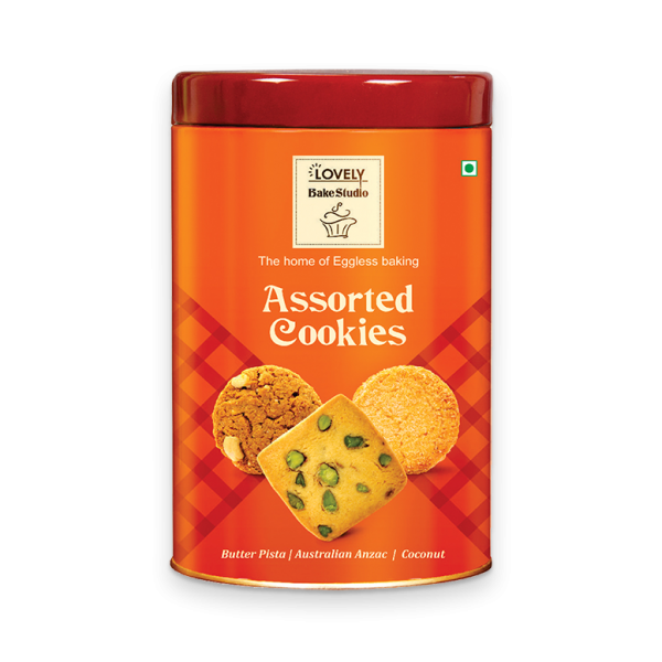 Assorted Cookies (Butter Pista, Australian Anzac, Coconut) 250g