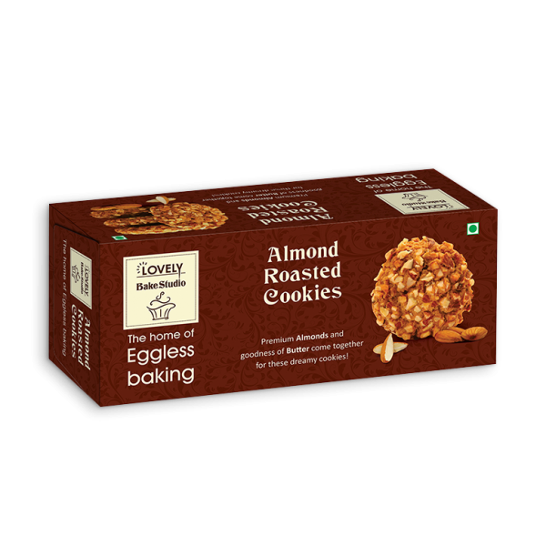 Almond Roasted Cookies (75gms)