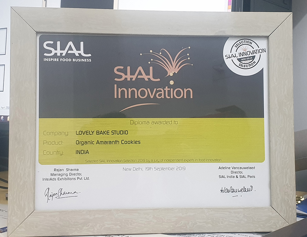SIAL-award-for-organic-COokies-2019