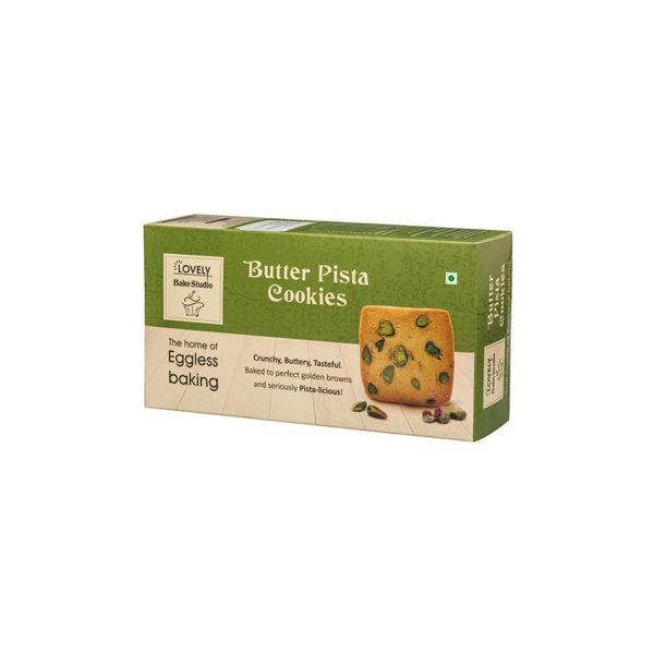 Butter Pista Cookies (200 gms)