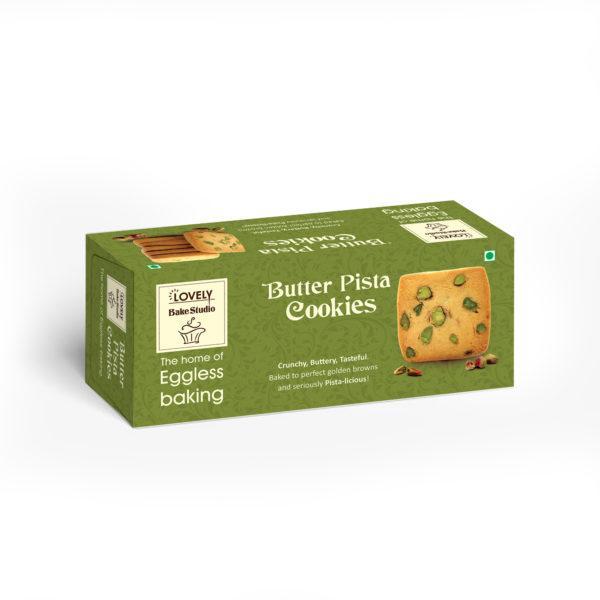 Butter Pista Cookies (75 gms)