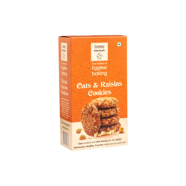 Oats & Raisins Cookies (200 gms)