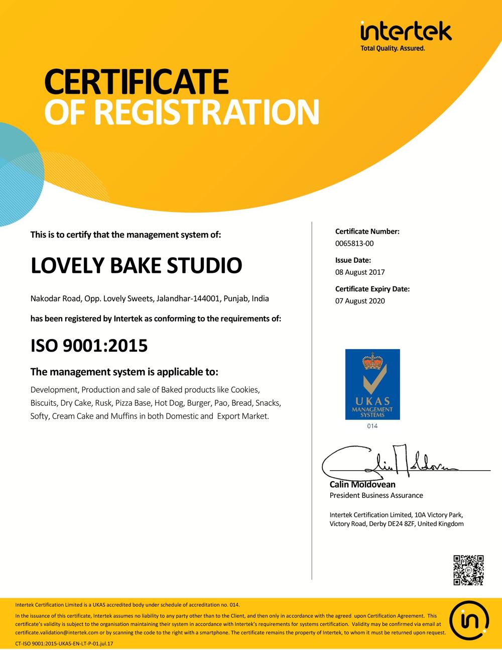 Certificate-9001-2015